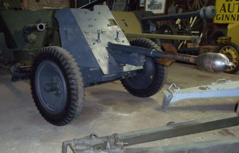 German 50 Mm Anti Tank Gun: 3,7cm. Panzer Abwehr Kanone (PAK) 1936