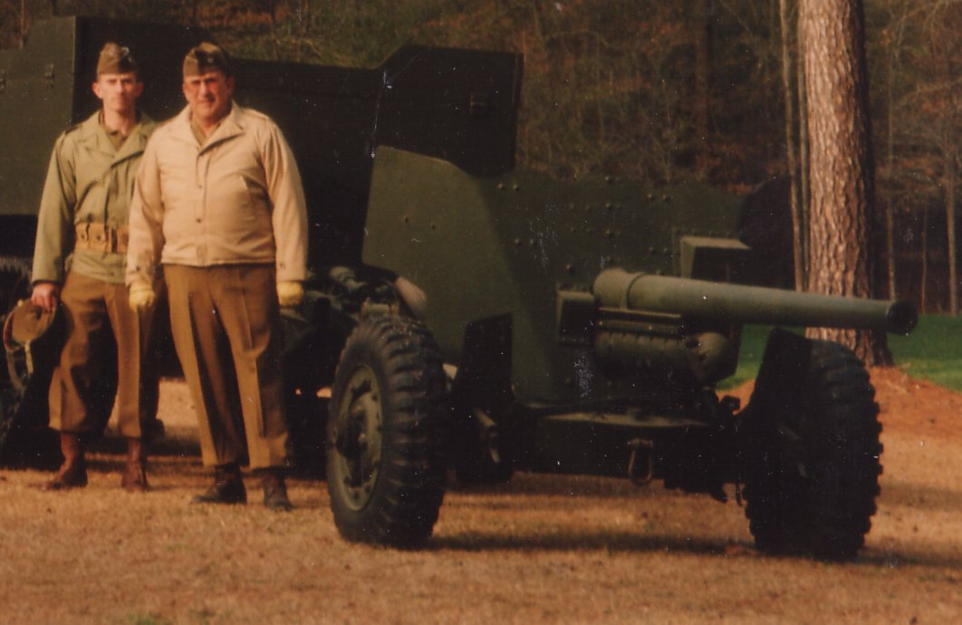 Ralph & Leon Lovett with the US 57mm
