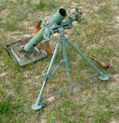 Lovett Artillery - 60mm Mortar Yugoslavian