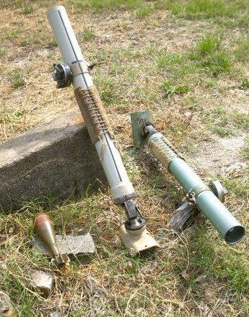 Lovett Artillery - 60mm Commando Mortar Yugoslavian