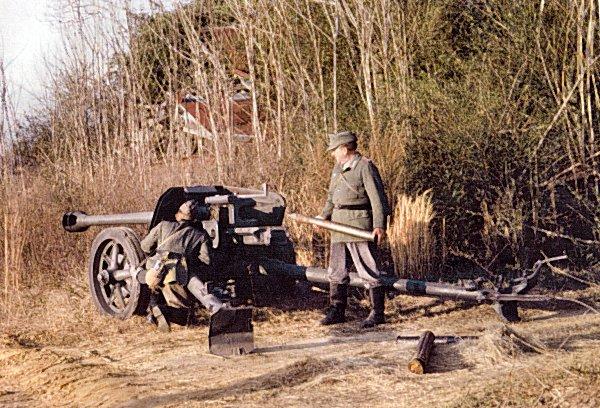 German 50 Mm Anti Tank Gun: 7,5cm. Panzer Abwehr Kanone (PAK) 1940
