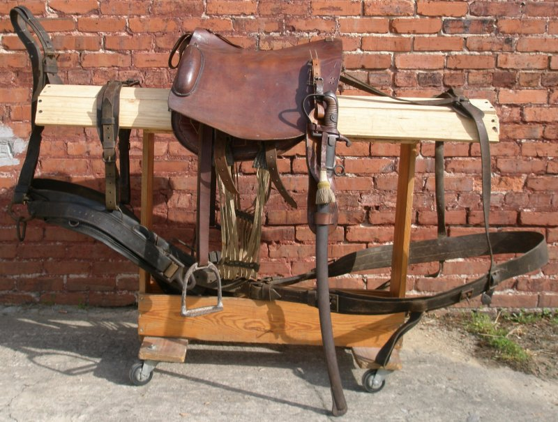 foot artillery driver u0026 39 s saddle and harness