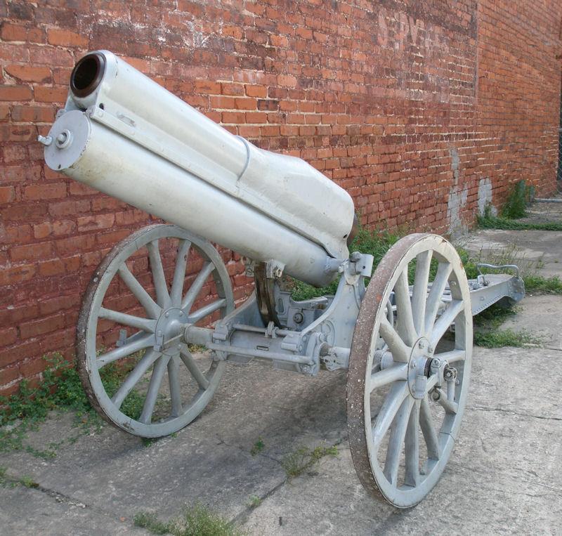 Lovett Artillery - 70mm St  Chamond Mountain Howitzer