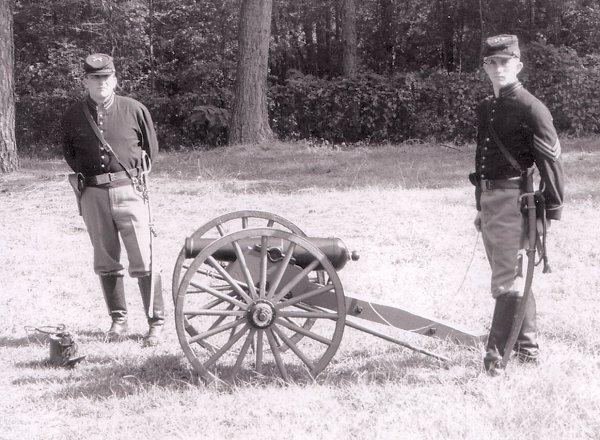 Lovett Artillery - Woodruff Gun (2 Pounder) American Civil War